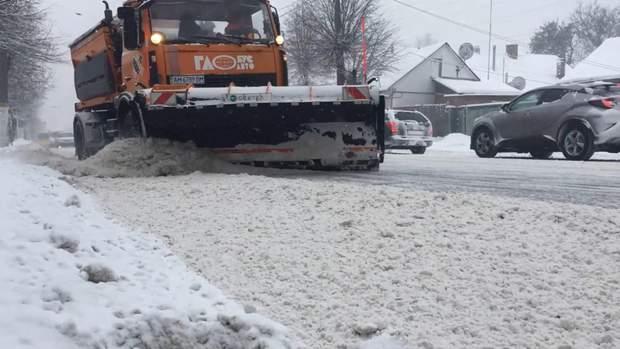Сніг на Черкащині