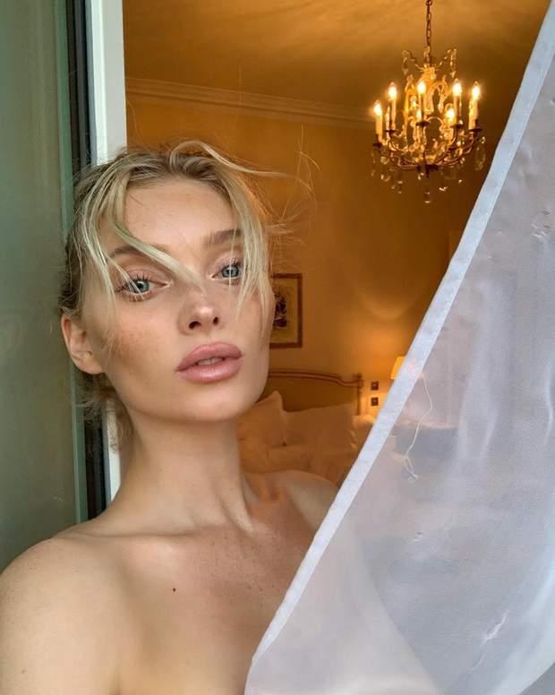 Ельза Госк показала оголене тіло
