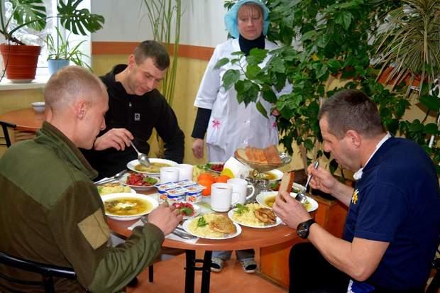 військовий госпіталь Київ харчування