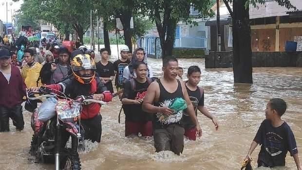 Індонезія, повінь, жертви