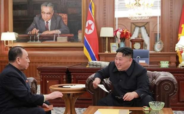 Кім Чен Ин, США, Дональд Трамп