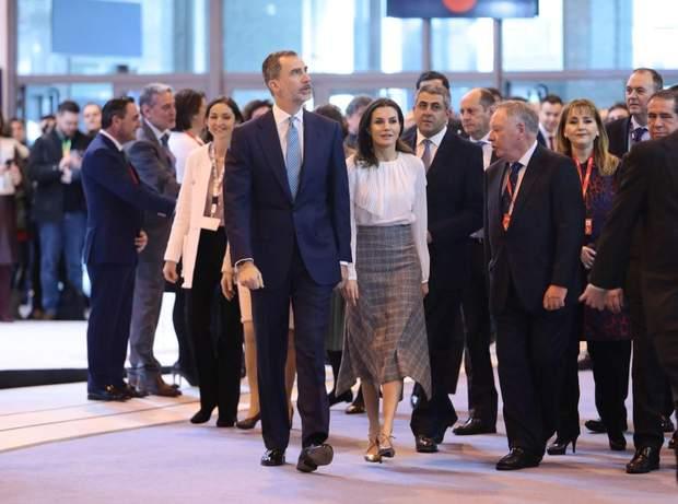 Королівське подружжя Іспанії на світському заході