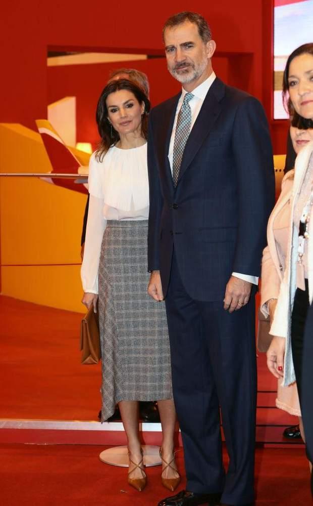 Король Філіп VI з дружиною Летицією