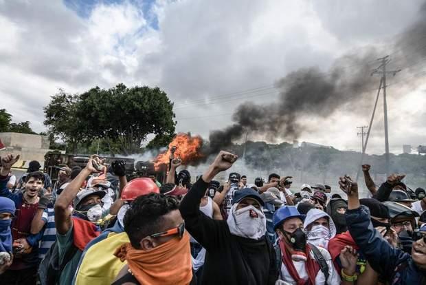 протести у венесуелі останні новини венесуела гуайдо