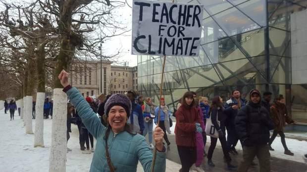 Протести школярів у Бельгії