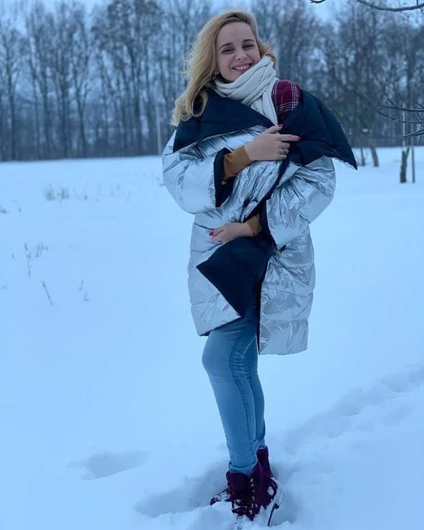 Зимовий стиль Лілії Ребрик