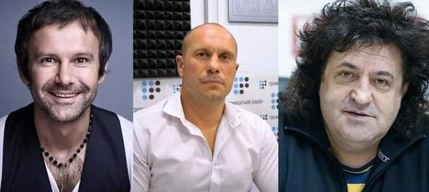 Святослав Вакарчук, Ілля Кива, Іво Бобул
