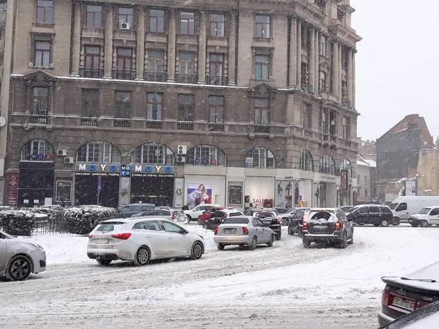 Львів, корки, погода, негода, надзвичайні ситуації, ДТП