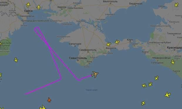 авіація Чорне море США РФ