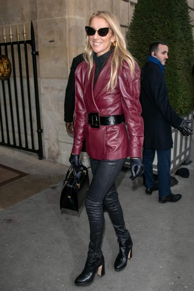 Селін Діон  Тиждень моди в Парижі