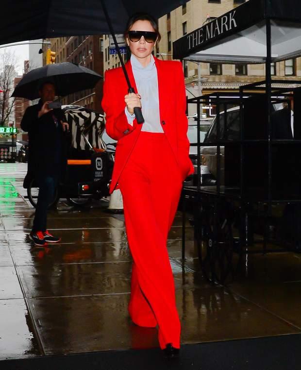 Вікторія Бекхем Тиждень Моди в Нью-йорку