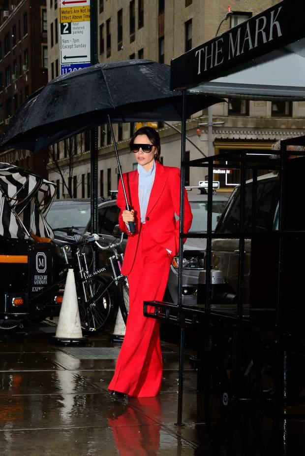 Вікторія Бекхем Нью-Йорк тиждень моди в Нью-Йорку
