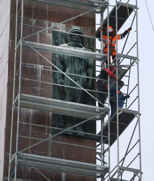 Монумент слави, Львів, демонтаж, історія, Радянська армія, СРСР