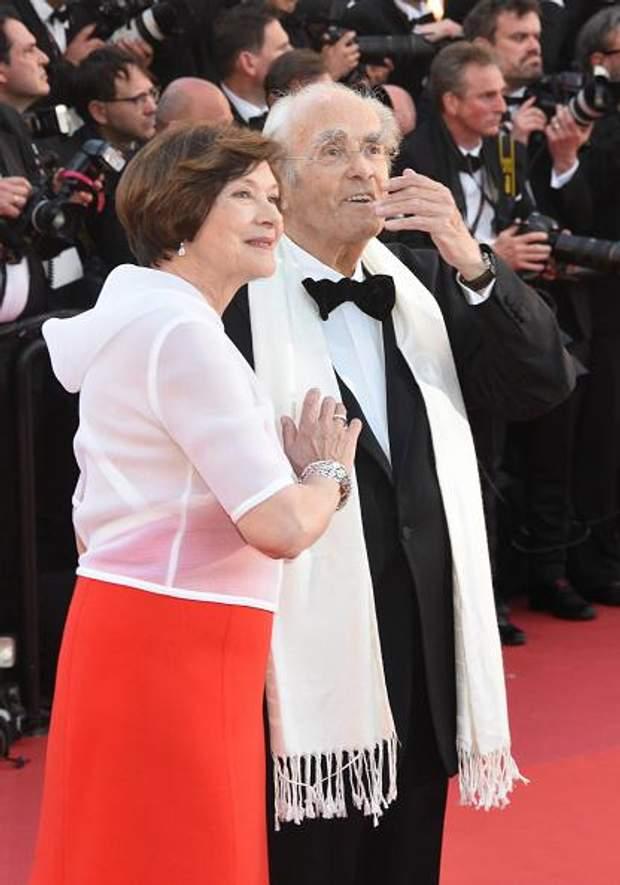 Легран з дружиною – французькою акторкою Мачею Меріч