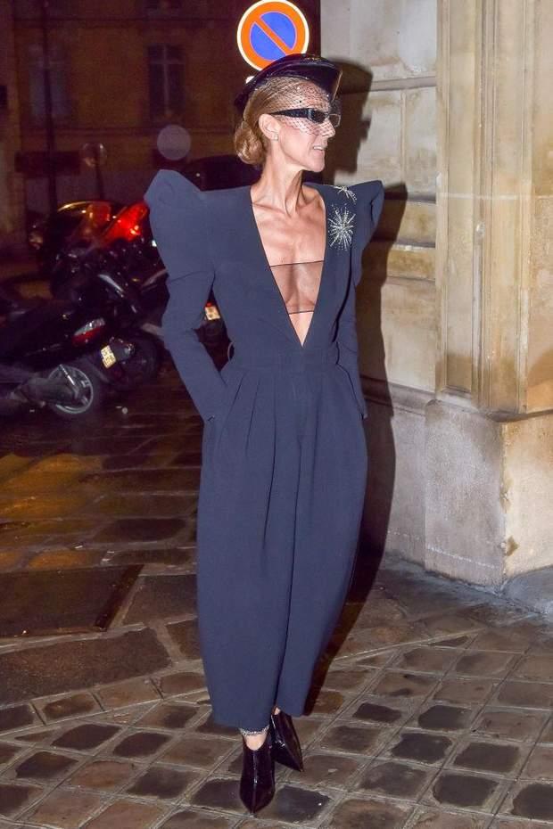 Селін Діон у Парижі