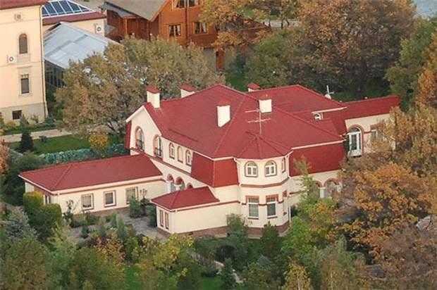 Юлія Тимошенко маєток будинок Козин Конча Заспа