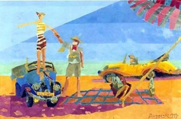 Дмитро Дидоренко створив вже понад 400 картин