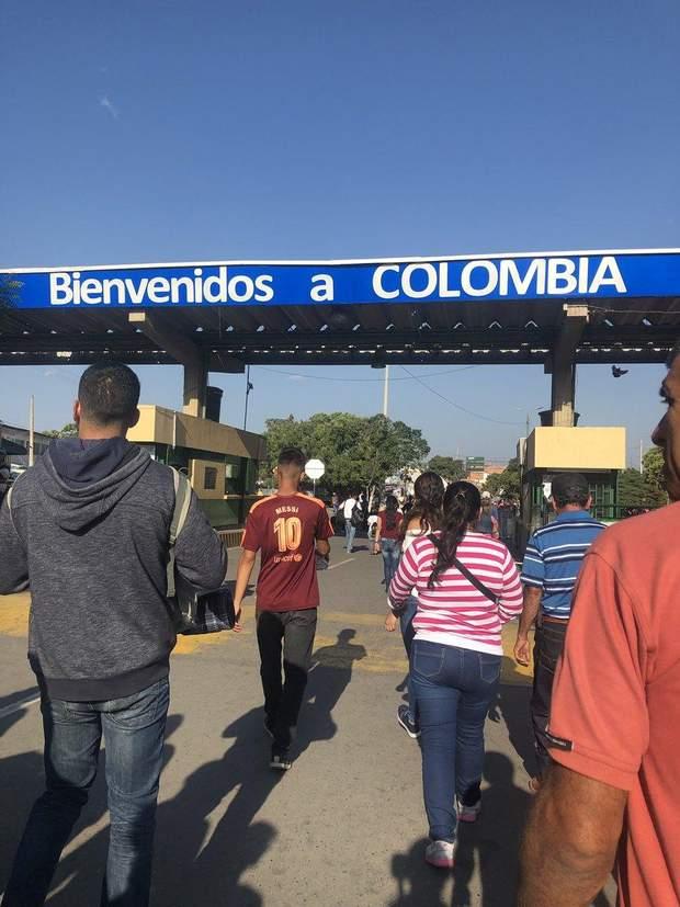 Венесуела Колумбія