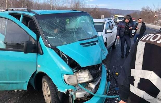 Аварія ДТП Ужгород Закарпаття Траса