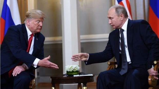 Дональд Трамп і Володимир Путін