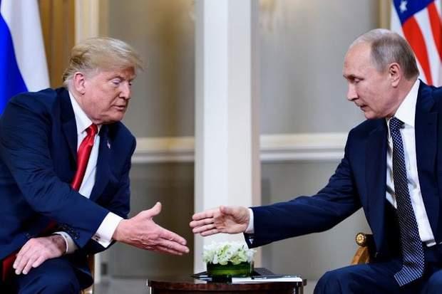 Трамп, Путін