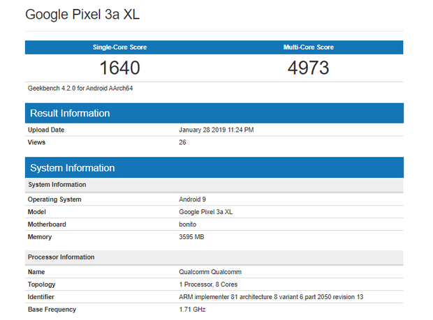 Pixel 3a Lite XL