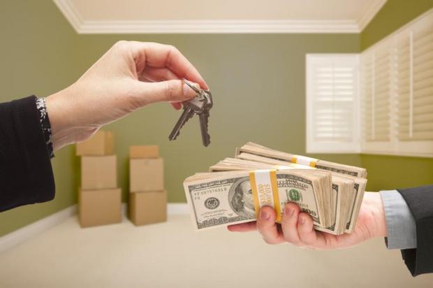 гроші ключі квартира