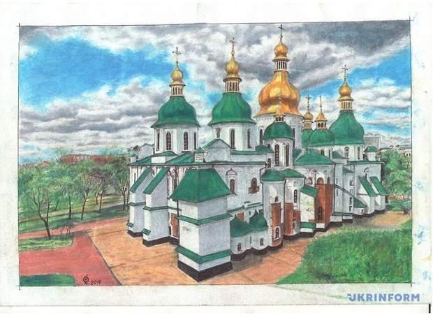 Сущенко малюнок картина полон російська колонія