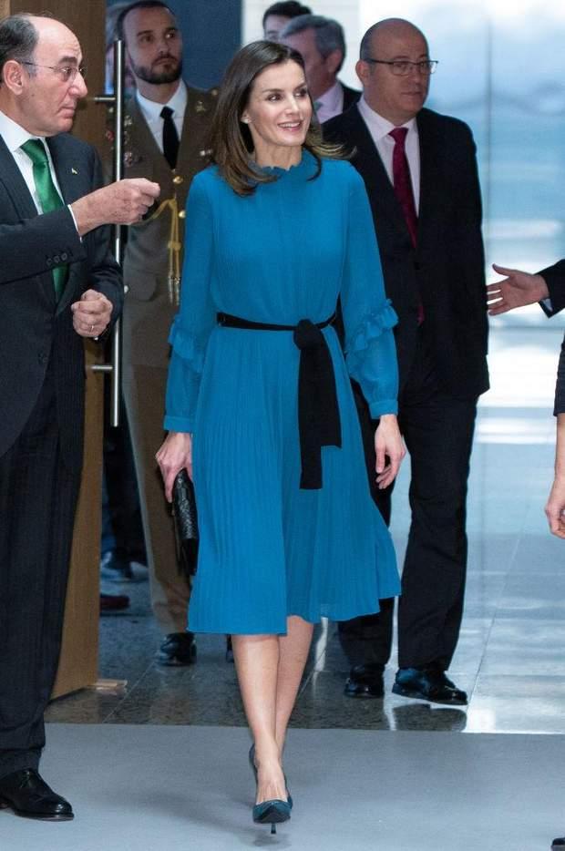 Іспанська королева відвідала урочистий захід