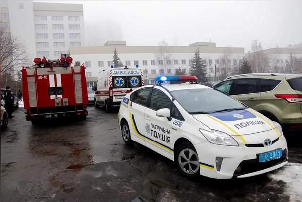 Повідомлення про замінування лікарні у Києві