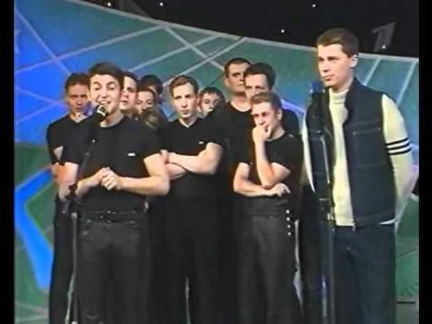 Перші виступи на КВН 95 квартал давав на федеральному каналі