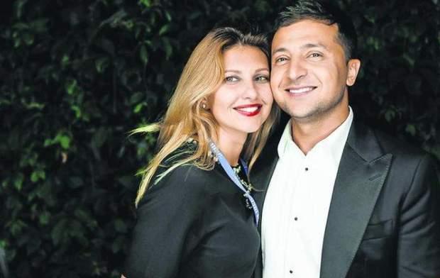 Володимир Зеленський із дружиною Оленою