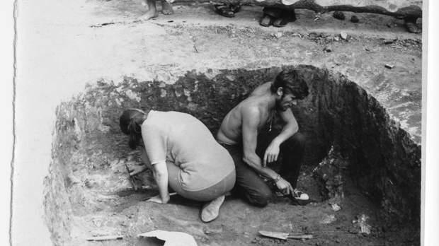 розкопки товстої могили
