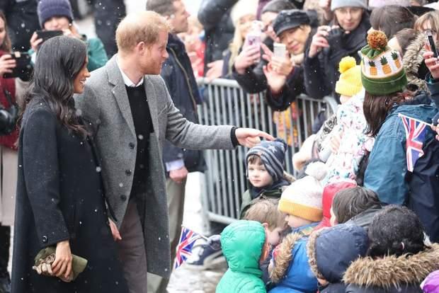 Принц Гаррі та Меган Маркл під час публічного виходу