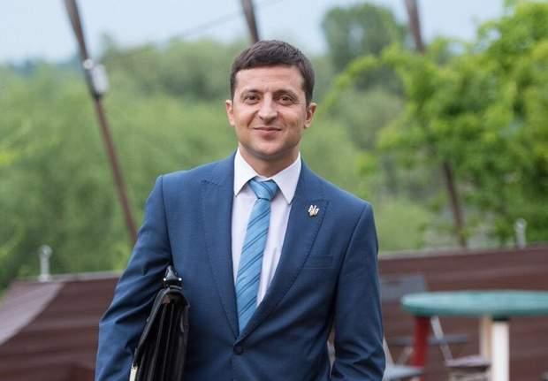 Кандидат у президенти Володимир Зеленський