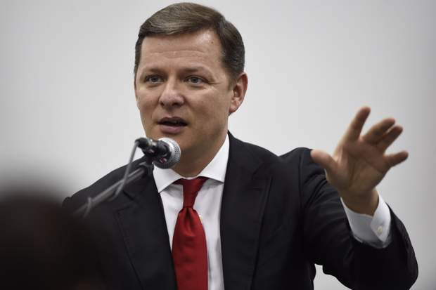 Кандидат у президенти Олег Ляшко