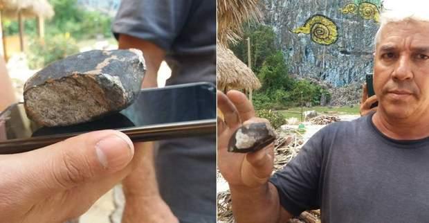 Куба, метеорит
