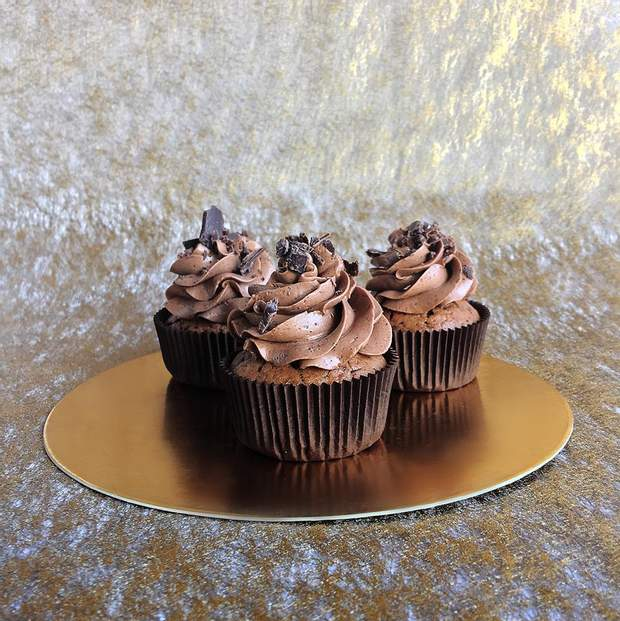 Шоколадний капкейк