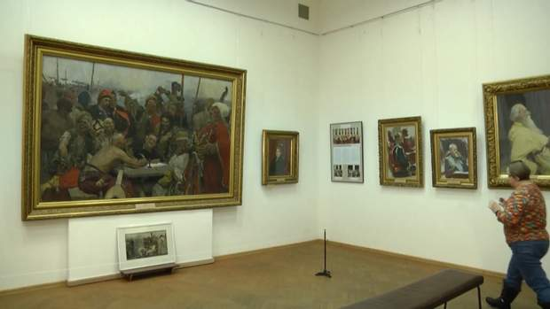 Під загрозою знищення опинилися відома картина Рєпіна