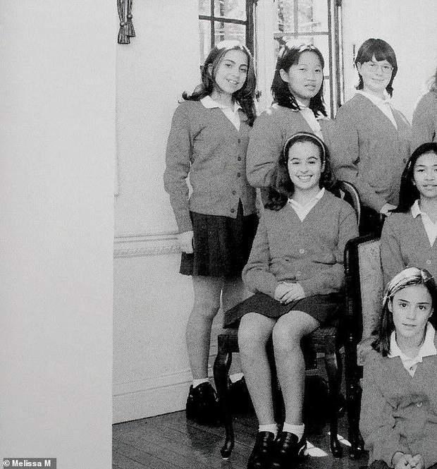 Леді Гага в шкільному альбомі