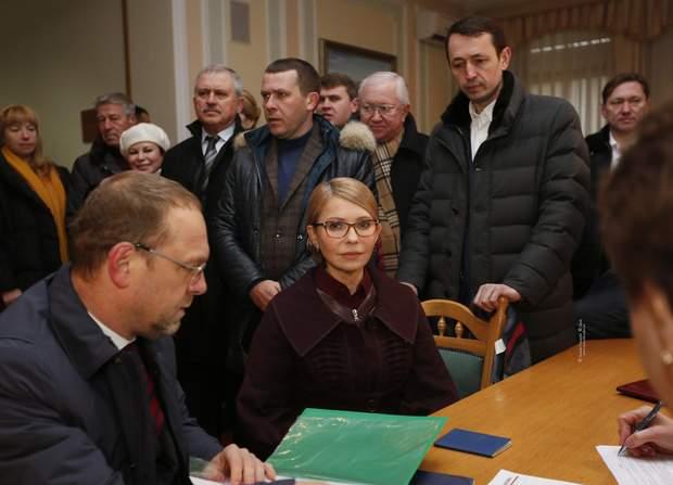 Юдія Тимошенко в ЦВК