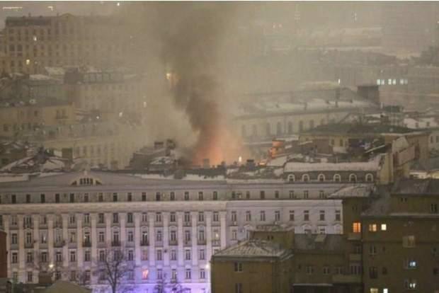 пожежа Москва Росія жертви