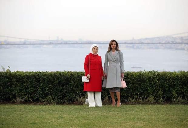 Перша леді Туреччини та королева Йорданії