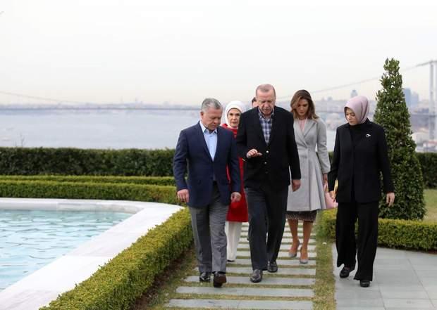 Президент Туреччини зустрів делегацію з Йорданії