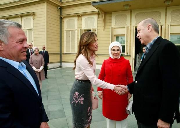 Королева Йорданії у Туреччині
