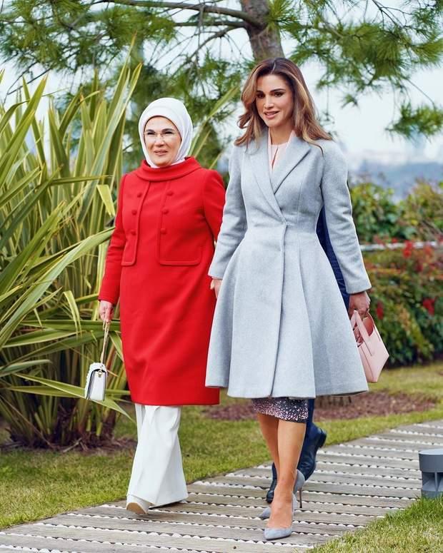 Королева Ранія та перша леді Туреччини