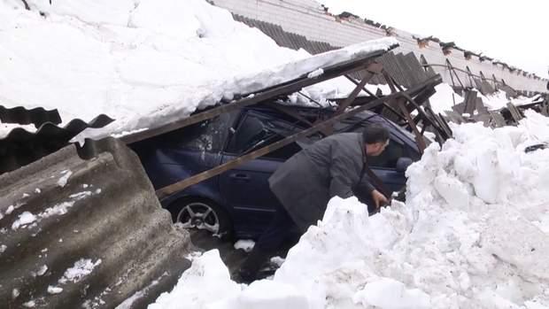 обвал снігу у харкові