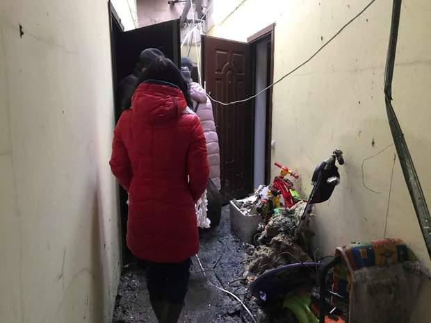 Пожежа у селі Чубинське