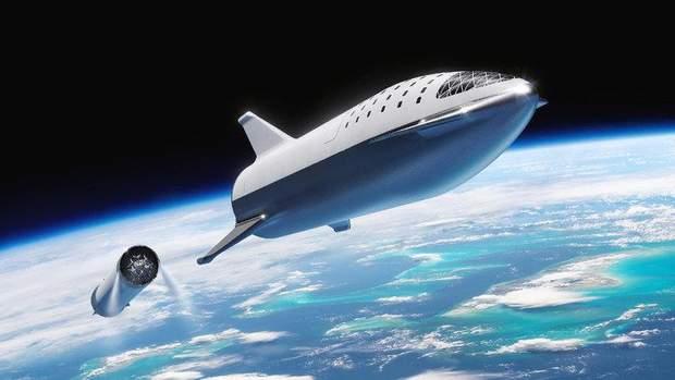 Ілон Маск космос технології Big Falcon Rocket SpaceX
