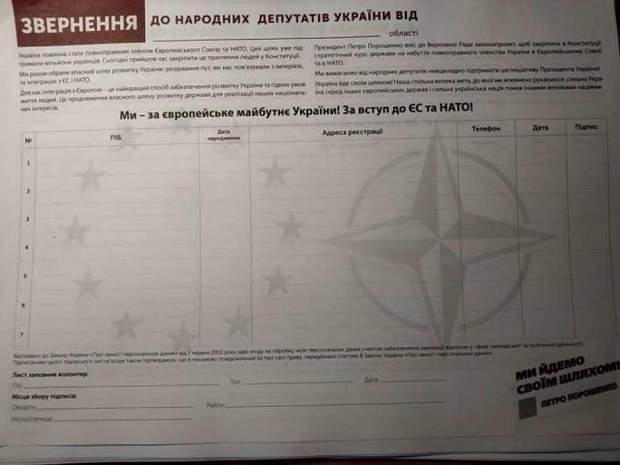 соцопитування Порошенко ЄС НАТО БПП